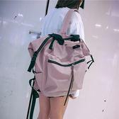 後背包 雙肩包高中學生大容量背包校園後背包 巴黎春天
