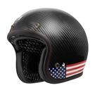 ASTONE SPORSTER II 碳纖維 復古 安全帽 VV77 透明碳纖  美國 國旗