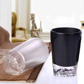 萬聖節大促銷 冰花創意樹脂漱口杯 高檔透明刷牙杯子衛浴牙缸牙具