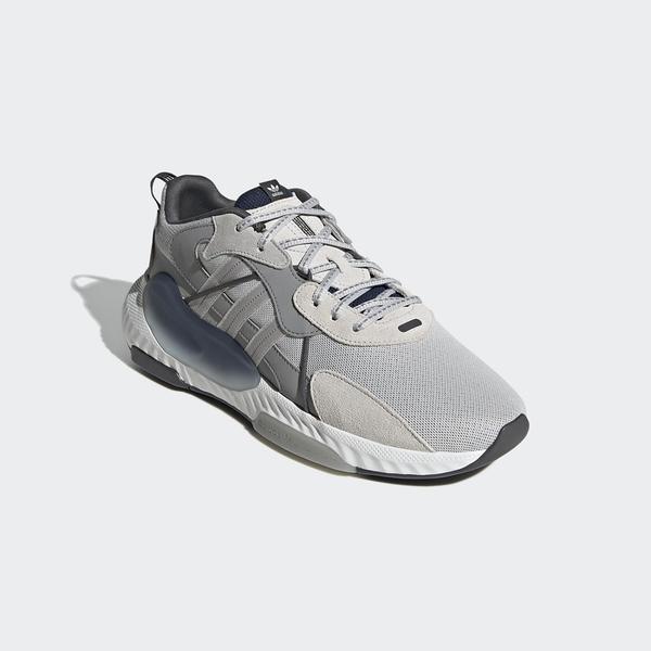 【跨店好好買折後$3280】Adidas Hi-Tail 灰藍色 山系 復古 潮流 時尚 休閒 老爹鞋 H05766