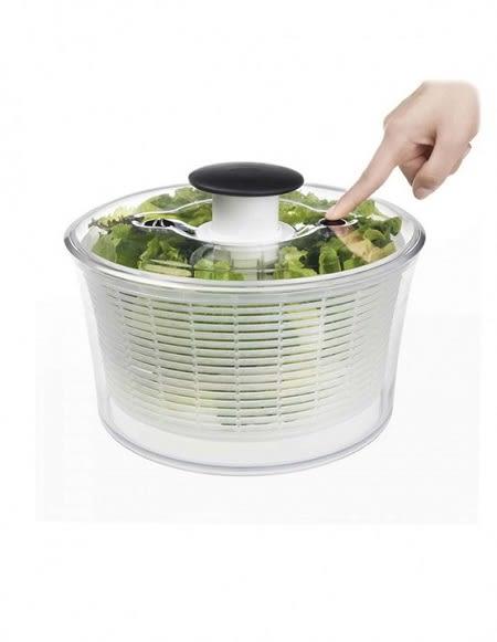 美國OXO 按壓式蔬菜脫水器 (大白)