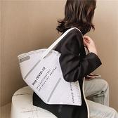 帆布包 同款口罩造型包N95單肩手提購物袋反光帆布包【快速出貨八折特惠】