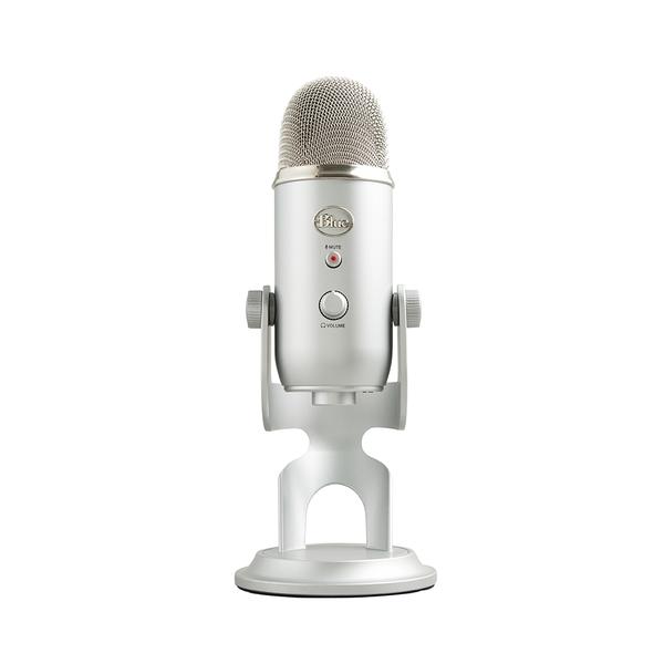 【台灣總代理公司貨 保固2年】美國 Blue YETI 雪怪 USB麥克風 四種收音心型,全向,雙指向,立體聲