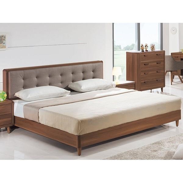 床架 床台 PK-161-1 北歐5尺床台 (不含床墊) 【大眾家居舘】