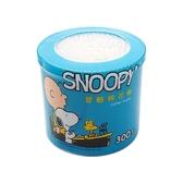 Snoopy 史努比 塑軸棉花棒300支(罐)【小三美日】