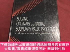 二手書博民逛書店solving罕見ordinary and partial boundary value problems 解決普