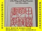 二手書博民逛書店Chinese罕見paintings of the Ming and Qing Dynasties, 14th-2