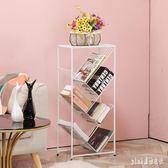 鐵藝多層簡易書架收納置物架簡約現代落地兒童學生書櫃樹形書架子 PA1669 『pink領袖衣社』
