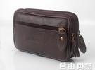 證件包 5、5.5、6寸屏手機腰包男穿皮帶多功能老人手機套錢包證件包 自由角落