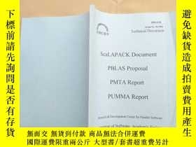 二手書博民逛書店scalapack罕見document pblas propos