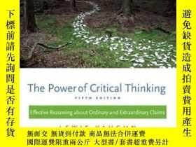 二手書博民逛書店The罕見Power Of Critical Thinking: