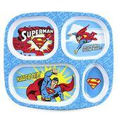 美國Bumkins DC漫畫造型兒童分隔餐盤-超人