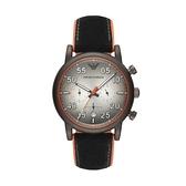 【Emporio Armani】美式經典工業風兩眼時尚腕錶-工業黑/AR11174/台灣總代理公司貨享兩年保固