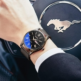 手錶 2019新款全自動機械錶韓版潮流學生手錶男士運動石英電子防水男錶 米娜小鋪