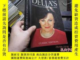 二手書博民逛書店delia s罕見complete cookery course