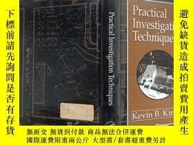 二手書博民逛書店Practical罕見investigation techniquesY302069