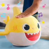 Pinkfong 碰碰狐 BABY SHARK鯊魚家族 可動絨毛娃娃 TOYeGO 玩具e哥