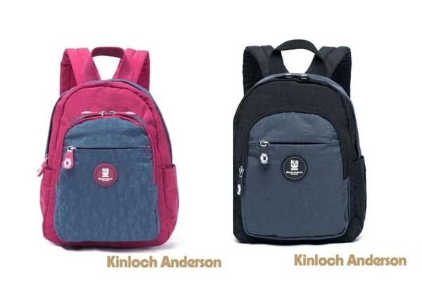 金安德森Kinloch Anderson SMILE 圓弧單拉鍊小後背包 2色