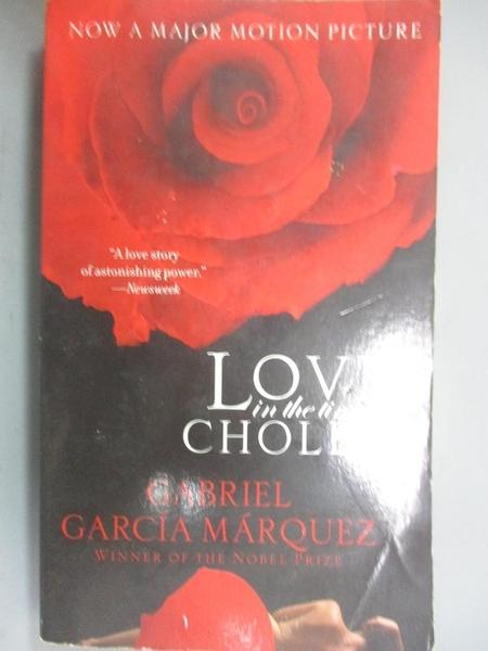【書寶二手書T2/原文小說_KEI】Love in the Time of Cholera_Gabriel Garcia