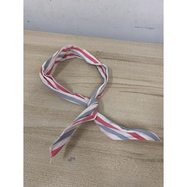韓版甜美立體鐵絲兔耳條紋髮帶洗臉頭飾兔耳朵髮飾(777-11951)