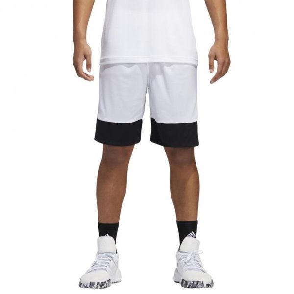 Adidas 3G Speed 男 黑 白 短褲 籃球褲 雙面穿 籃球褲 球褲 透氣 短褲 刺繡 運動褲 DX6386