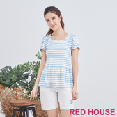 【RED HOUSE 蕾赫斯】珍珠條紋Tee(共2色)