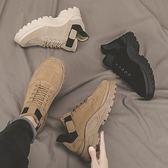 運動鞋新款春季男鞋子帆布休閒運動鞋韓版潮流百搭潮鞋網紅板鞋夏季 可然精品