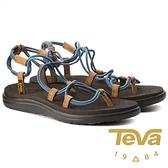 【TEVA】Voya 女羅馬織帶涼鞋『灰藍』1019622 功能鞋.多功能鞋.休閒鞋.健行鞋.涼鞋.露營.登山.戶外