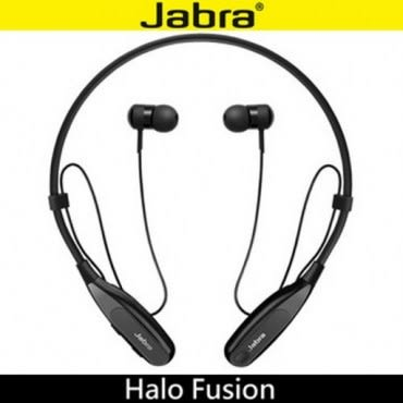 Jabra Halo Fusion 頸後式立體聲藍牙耳機 ◆入耳耳塞,有效阻隔噪