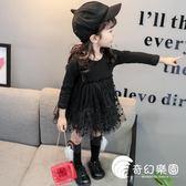女童洋裝-2018女寶寶秋裝連身裙新款0-1-2-3-4-5歲嬰兒連身裙寶寶女童裙子-奇幻樂園