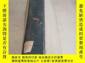 二手書博民逛書店JOURNAL罕見OF THE INSTITUTE OF FUEL.1951(燃料學會學報)(德文)Y2128