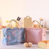 飯盒袋手提手拎便當包帆布保溫袋子女防水鋁箔加厚媽咪帶飯的餐包 聖誕裝飾8折
