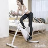 腳踏健身車動感單車家用超靜音室內健身車運動單車磁控車WL2751【黑色妹妹】
