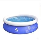兒童充氣游泳池戶外超大號嬰兒洗澡桶加厚大型成人小孩家用戲水池 霓裳細軟