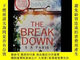 二手書博民逛書店英文原版罕見the break downY254456 ISBN:9781848454996
