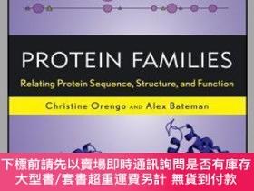二手書博民逛書店預訂Protein罕見Families: Relating Protein Sequence, Structure