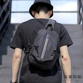 包包時尚前胸包男休閒多功能潮小背包側背斜背包【毒家貨源】