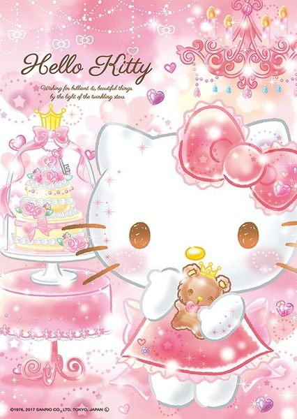 【拼圖總動員 PUZZLE STORY】Hello Kitty★Dream 日本進口拼圖/Beverly/88P