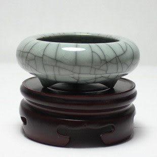 哥窯粉青禪意香爐