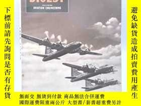 二手書博民逛書店稀缺,Aero罕見Digest Magazine ,約1945出版,軟精裝Y351918 如圖 如圖 出版1