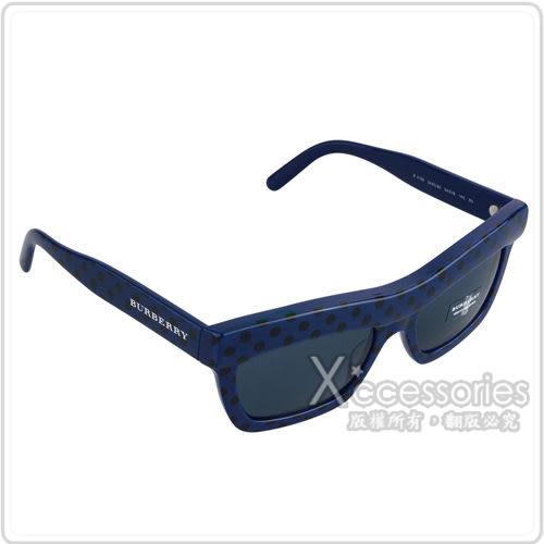 CHANEL展示品 米色牛皮手拿包+BURBERRY 藍色太陽眼鏡