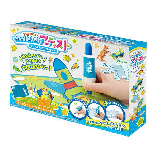 《 CUT IT OUT! 》剪紙藝術家-動物與工具╭★ JOYBUS玩具百貨