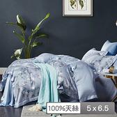 【貝兒居家寢飾生活館】頂級100%天絲鋪棉涼被(桑榆 150×195cm)
