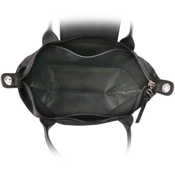 【LONGCHAMP】S號厚款尼龍二用包Le Pliage Neo(黑色) L1512 598 001