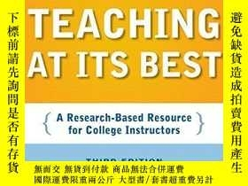 二手書博民逛書店Teaching罕見At Its BestY256260 Linda B. Nilson Jossey-bas