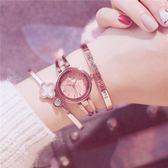 手表女韓版簡約潮流ulzzang學生生日禮物送女生手鏈式小清新大氣 艾尚旗艦店
