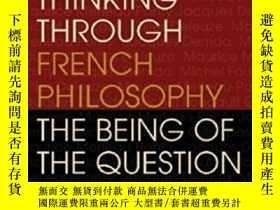 二手書博民逛書店Thinking罕見Through French Philoso