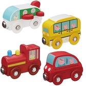 粉紅豬小妹Peppa Pig-(木製)交通工具小車-4款