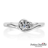 求婚鑽戒 PERKINS 伯金仕Athena系列 30分鑽石戒指