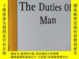 二手書博民逛書店英文原版罕見The Duties Of Man by Giuseppe MazziniY7215 Giusep